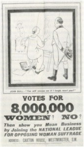 Anti Suffrage Poster 4