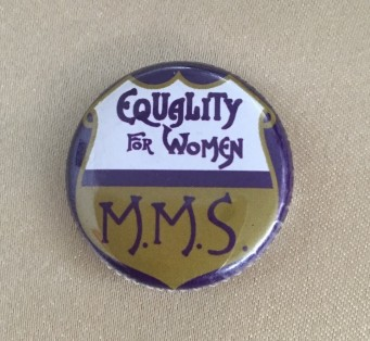 equality for women badge